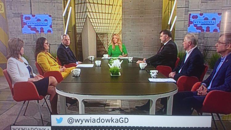"""""""Wywiadówka"""" Małgorzaty Rakowiec w TVP Gdańsk"""