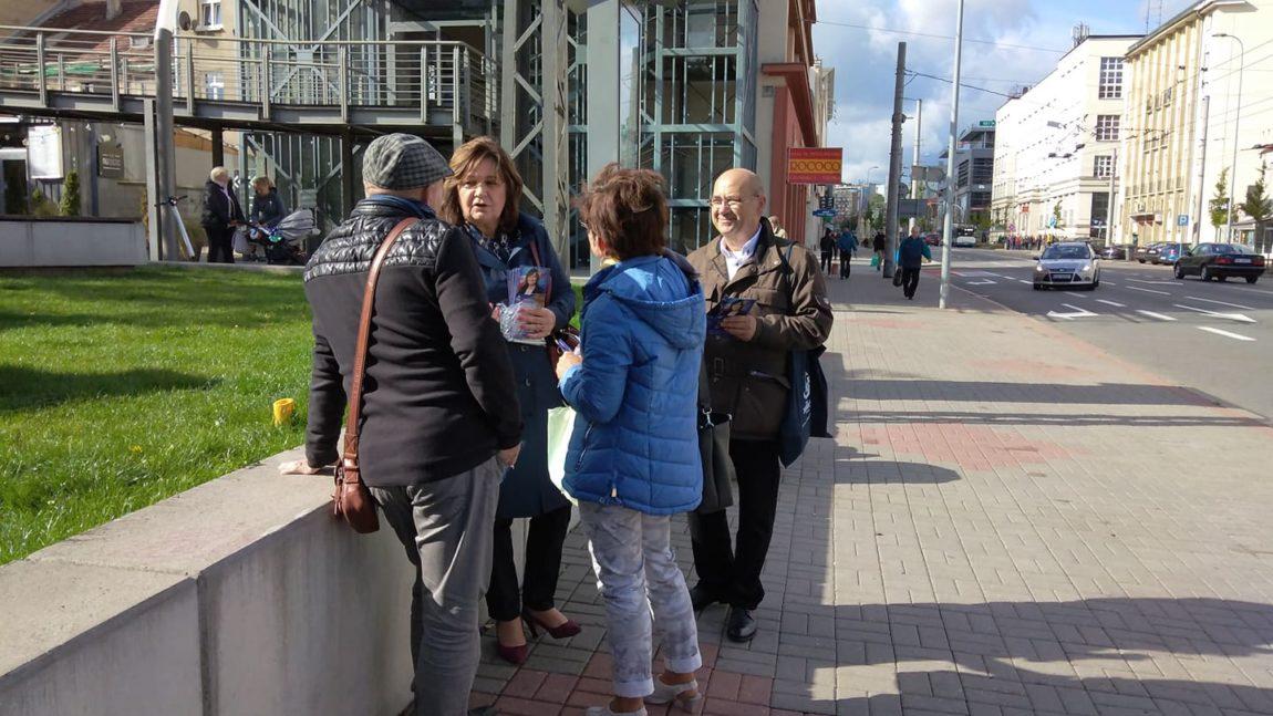 Kampania bezpośrednia w Gdyni, Wejherowie i Piknik Rodzinny w Wejherowie