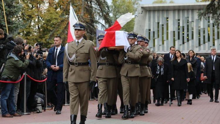 Pogrzeb Marszałka Seniora Kornela Morawieckiego