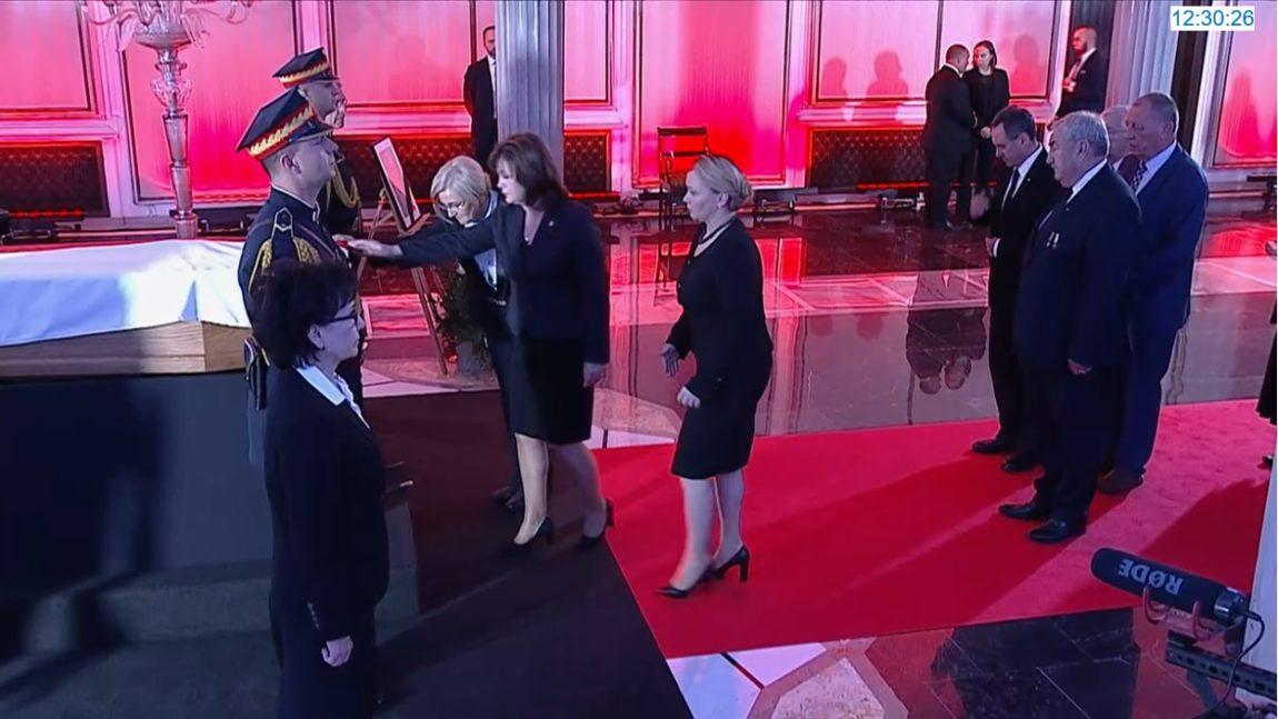 Pożegnanie Marszałka Seniora Kornela Morawieckiego w Sejmie
