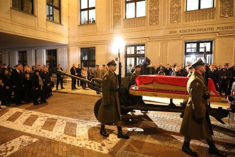 Pożegnanie Marszałka Seniora