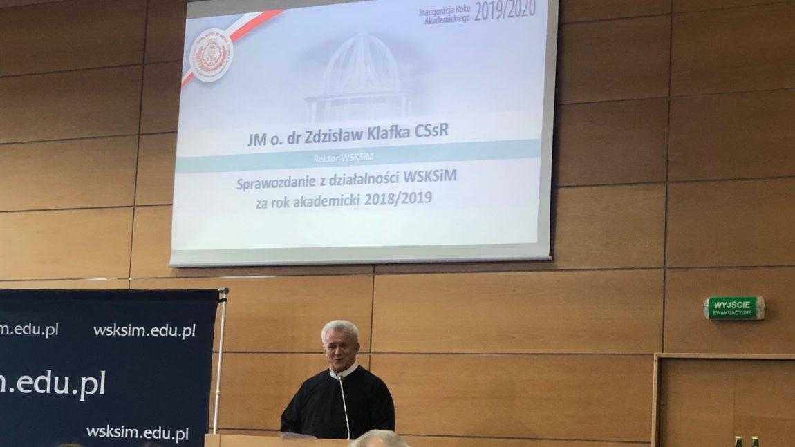 Inauguracja Roku Akademickiego w WSKSiM w Toruniu